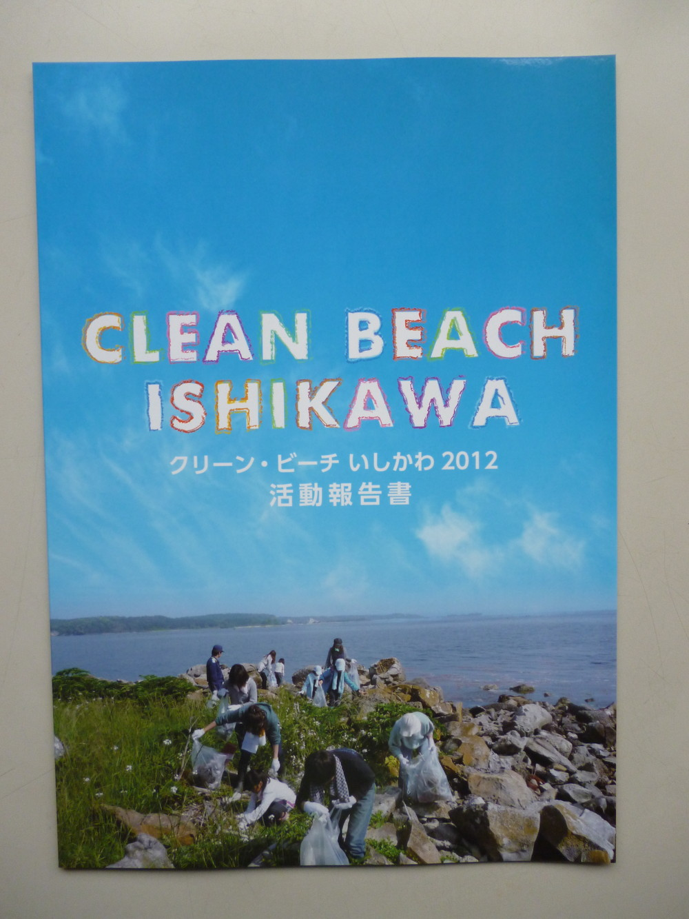 2012年度活動報告書表紙